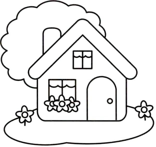 Gezinnen helpen elkaar - Imagenes de casas para dibujar ...